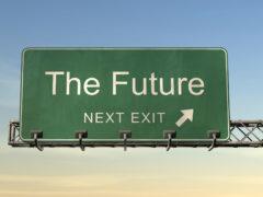 Si parte. Direzione futuro.