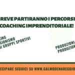 Partecipa ai percorsi di coaching imprenditoriale