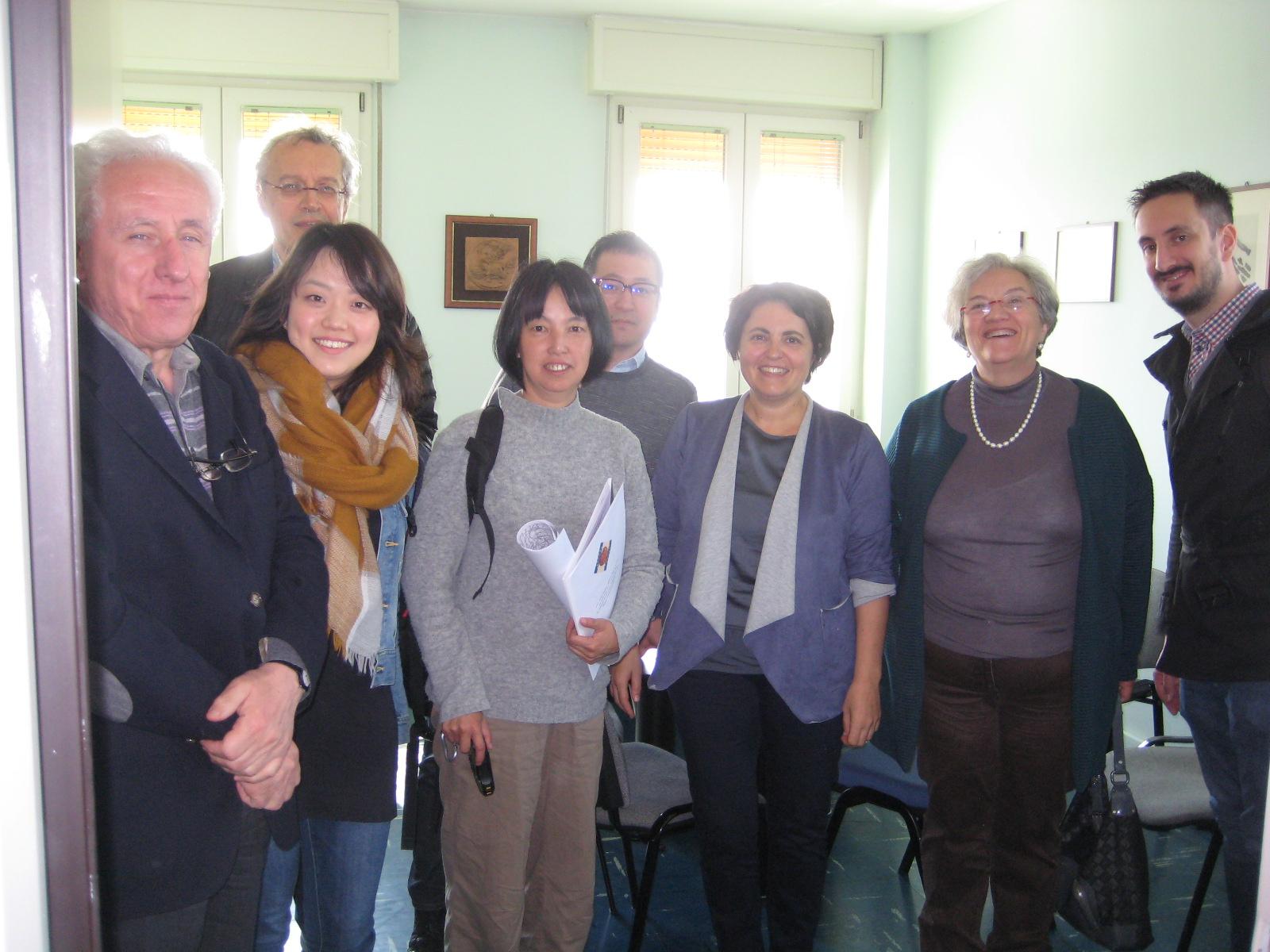 Università di Kyoto in visita al GAL Modena Reggio