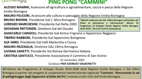 "IL GAL IN TV: TALK SHOW ""CAMMINI"""